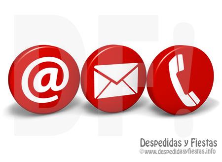 Contacto Despedidas y fiestas en Catalunya